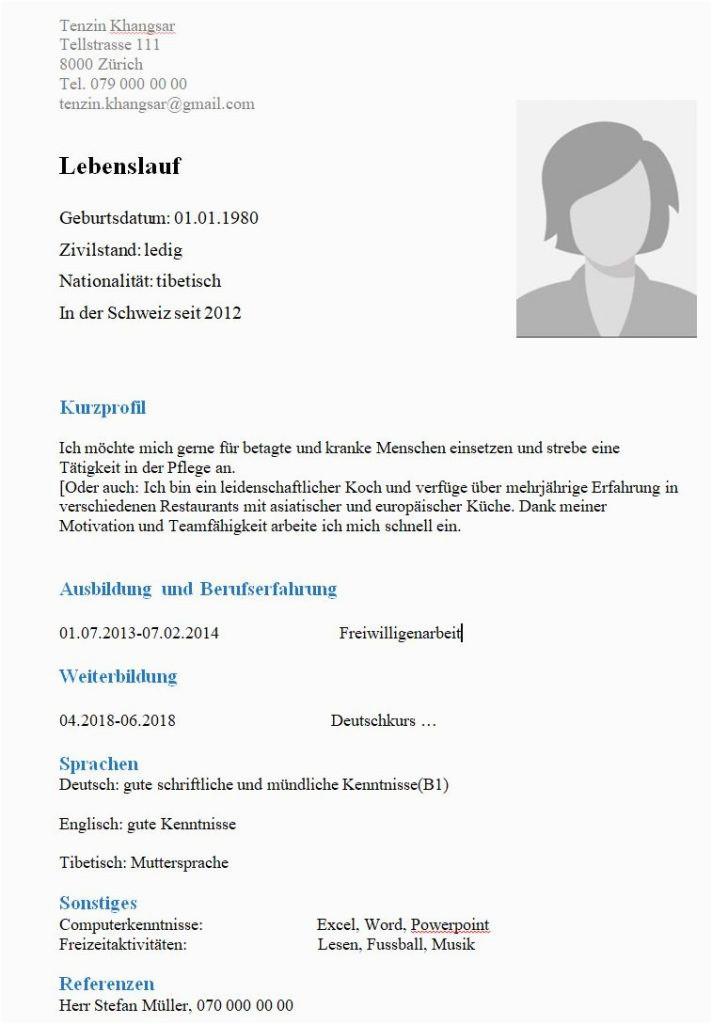 CV Vorlage 712x1024