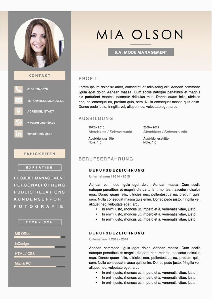 Lebenslauf Graphic Design Lebenslauf Design Lebenslauf Layout Me Ndesign Ideen