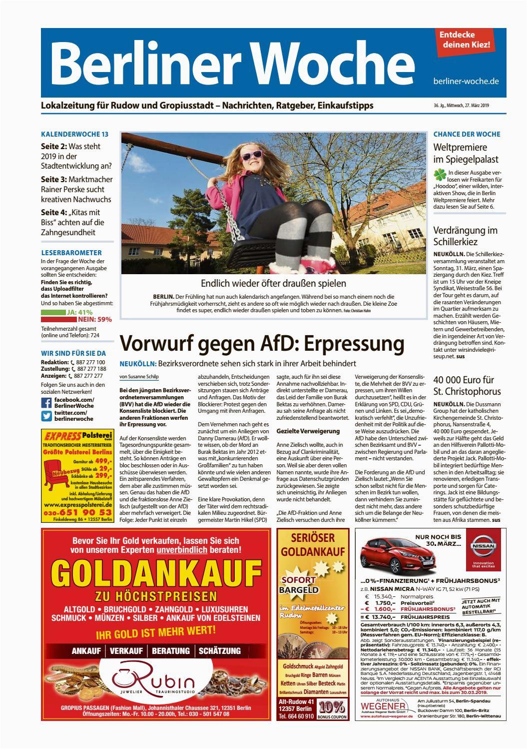 Lebenslauf Schlicht Zingst L14 Rudow Gropiusstadt by Berliner Woche issuu