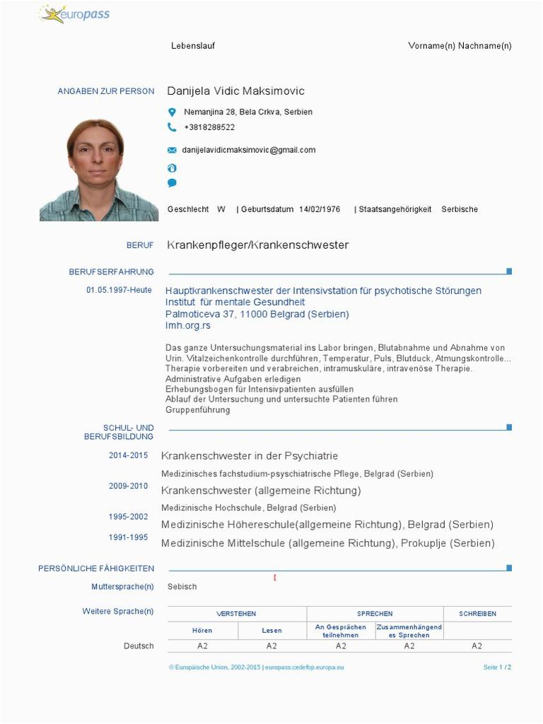 lebenslauf doc 1 pdf