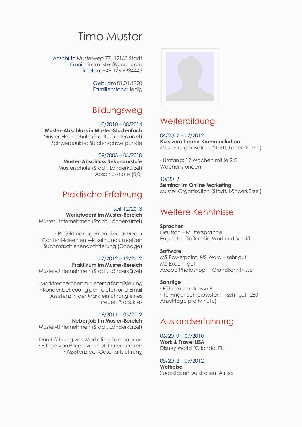 lebenslauf publisher 27