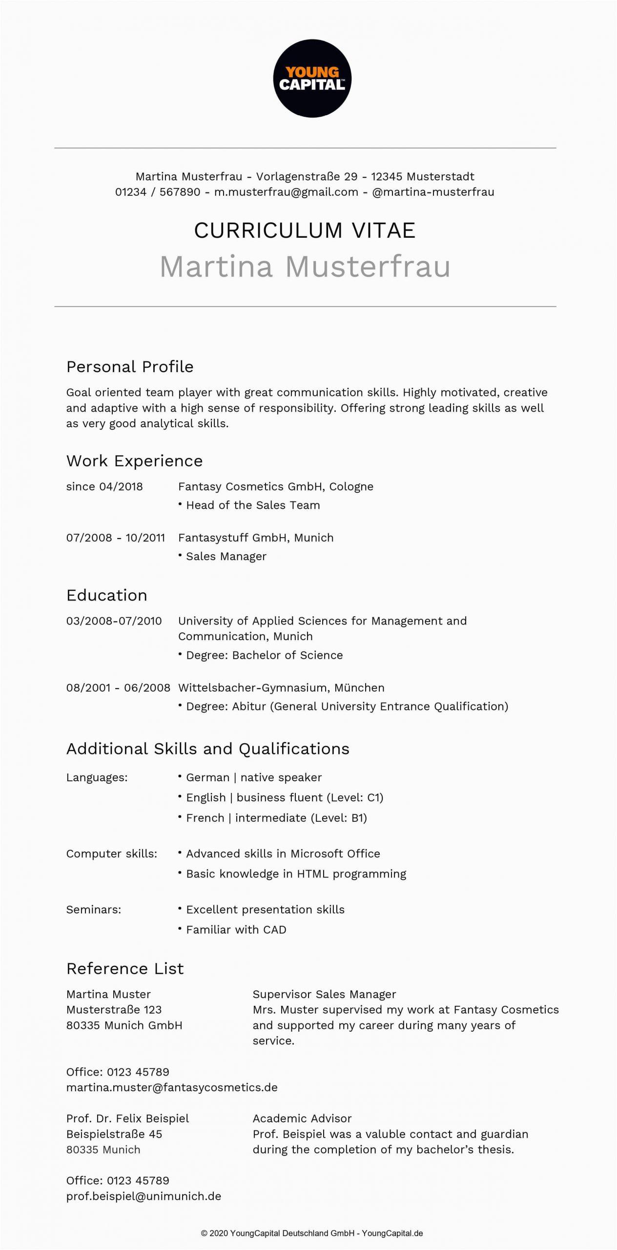 Lebenslauf Englisch Google Übersetzer Bewerbung Auf Englisch