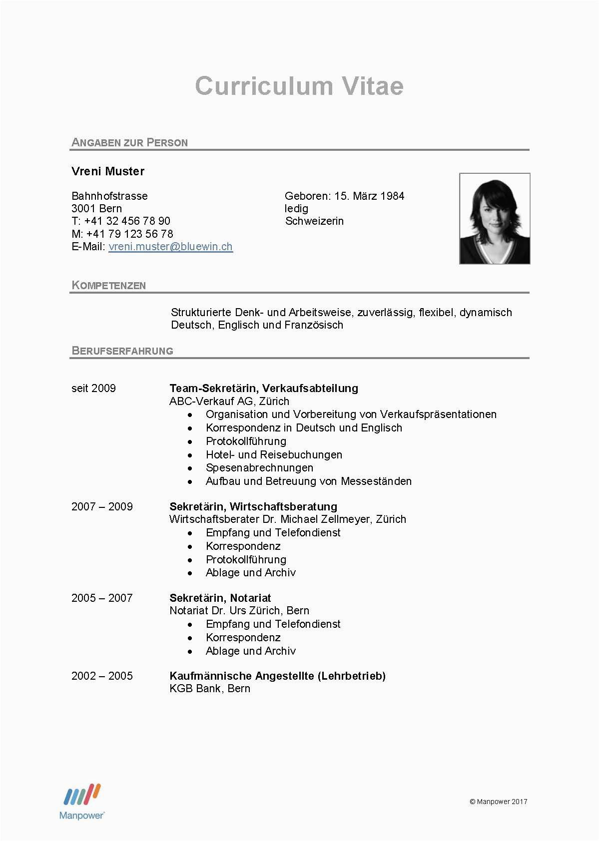 DE CV fice Page 1