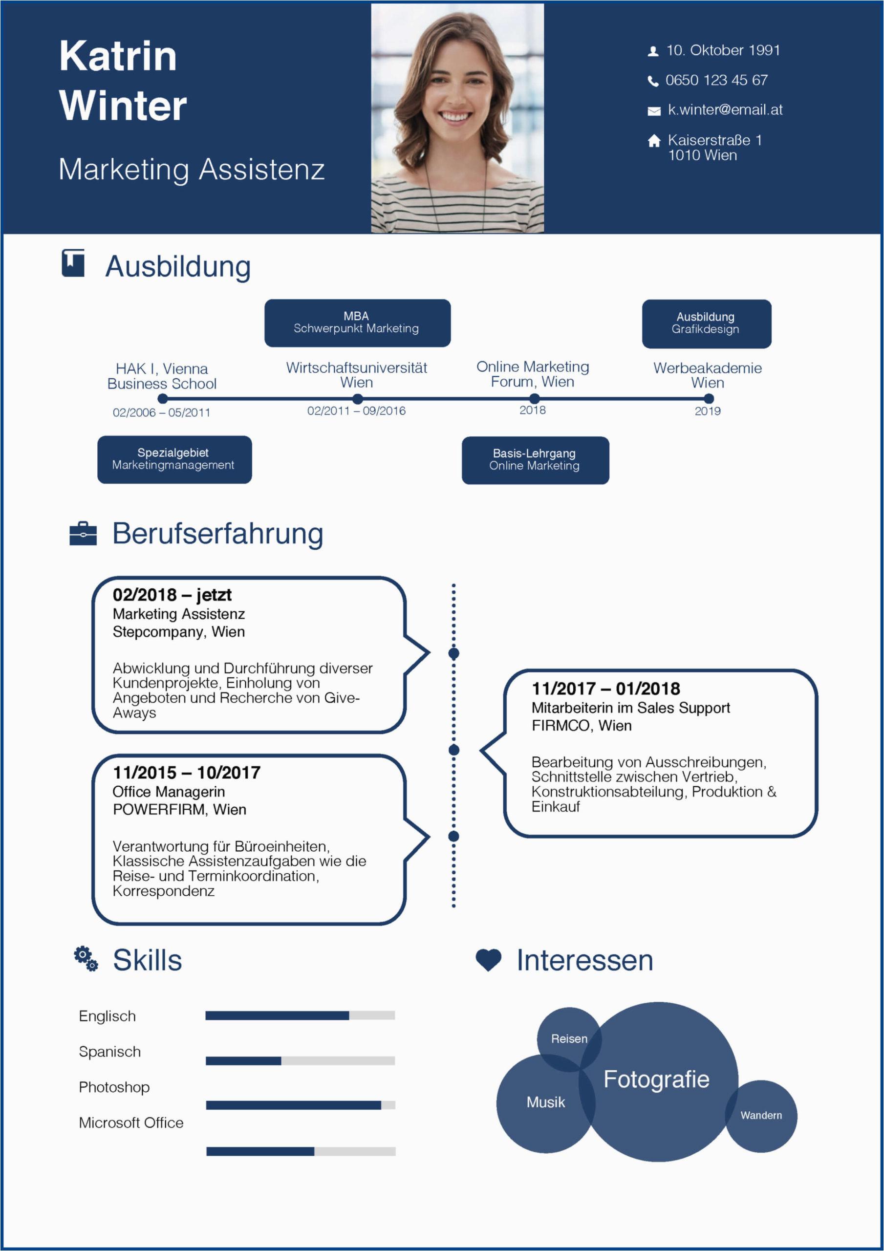 Lebenslauf Gestalten Powerpoint Der Perfekte Lebenslauf Aufbau Tipps Und Vorlagen