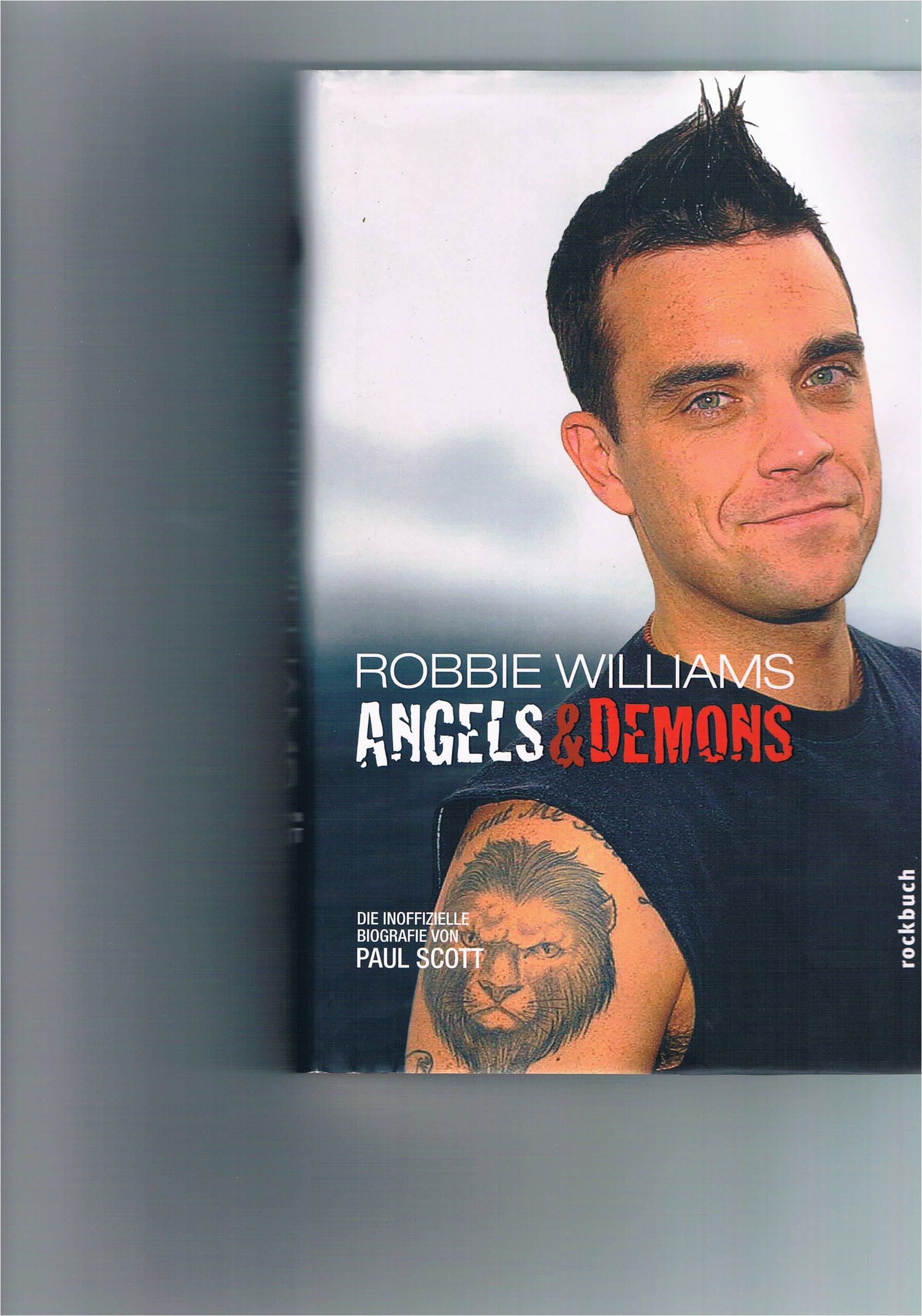 Robbie Williams Lebenslauf Deutsch Robbie Williams Angels and Demons Die Inoffizielle
