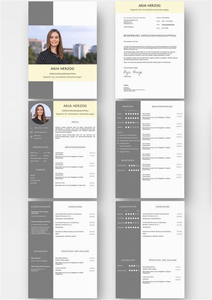 Lebenslauf Design Kaufen Moderne Lebenslauf Design Vorlagen Set Ideal Für Viel Berufserfahrung