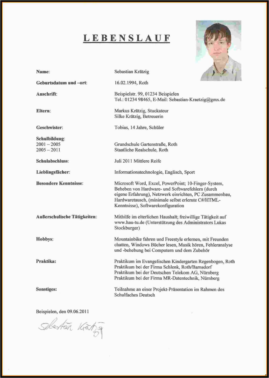 lebenslauf modell muster open office model pdf modelle word 2019 kostenlos deutschlandstipendium doc xing 11 12 probe lebenslufe sozialarbeiter foer