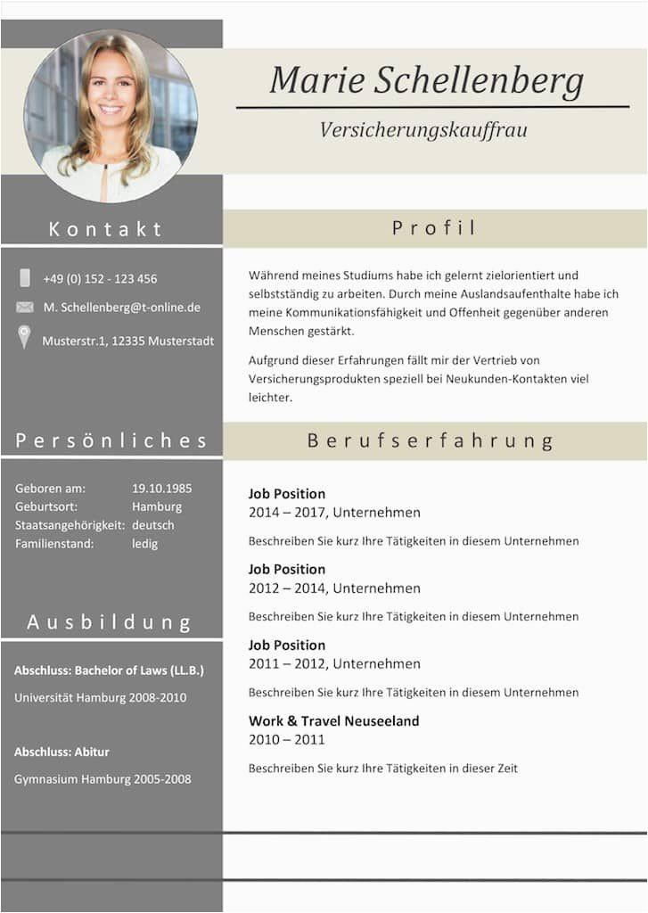 "Moderner Lebenslauf Design Moderne Lebensläufe Lebenslauf ""full attention"" Als"