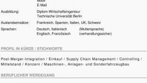 Deutsch Im Lebenslauf Groß Oder Klein Lebenslauf Staatsangehörigkeit Deutsch