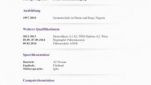 Deutsch Niveau Lebenslauf Robert Ohiary Lebenslauf