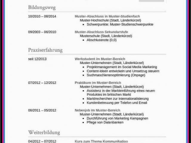 Europass Lebenslauf Deutsch Download Lebenslauf Modell ...