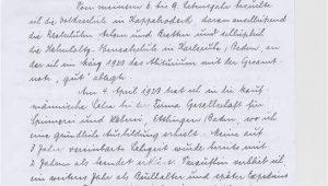 Handschriftlicher Lebenslauf Vorlagen Handschriftlicher Lebenslauf – Inhalt Und Aufbau