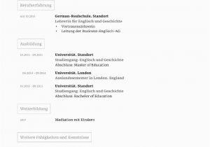 Https //lebenslauf.com Englisch Lebenslauf Vorlage Akademisch Kostenloser Download