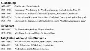 Hubert Deutsch Lebenslauf Tabellarischer Lebenslauf Pdf Free Download