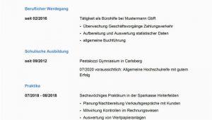 Lebenslauf Bankkaufmann Vorlagen Musterbewerbung Um Eine Ausbildung Zum Bankkaufmann