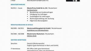 Lebenslauf Beispiel Deutsch Der Tabellarische Lebenslauf Aufbau Inhalt format