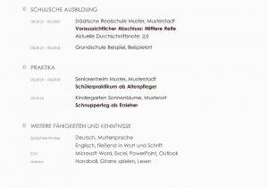 Lebenslauf Bewerbung Deutsch Lebenslauf Beispiele Für Perfekte Bewerbung
