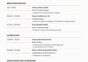 Lebenslauf Bewerbung Deutsch Lebenslauf Vorlagen & Muster Kostenloser Download Als Pdf