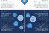 Lebenslauf Design Blau Stock