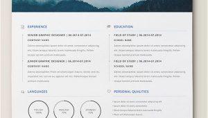 Lebenslauf Design Indesign 10 Best Free Resume Cv Templates In Ai Indesign Word