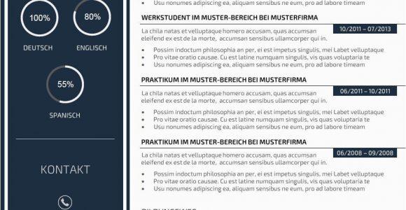 Lebenslauf Design Vorlage Kaufen Premium Bewerbungsmuster 3