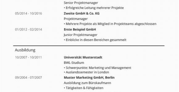 Lebenslauf Deutsch Aktuell Lebenslauf Vorlagen & Muster Kostenloser Download Als Pdf