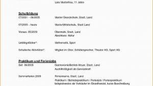 Lebenslauf Deutsch Klasse 9 Einzigartig Lebenslauf Muster Download Kostenlos Briefprobe