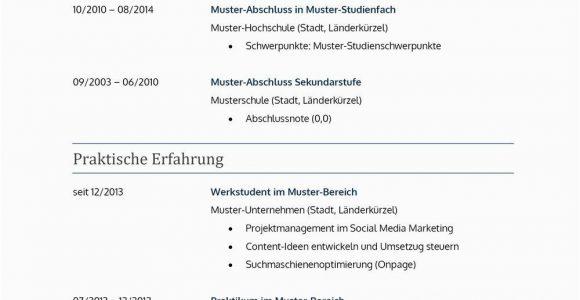 Lebenslauf Deutsch Lehrer Lebenslauf Muster Für Lehrer