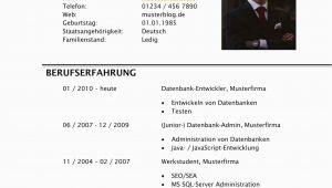 Lebenslauf Deutsch Muster Student Lebenslauf Als Student Schreiben [gratis Vorlagen]