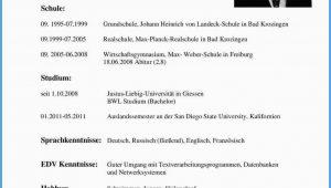 Lebenslauf Deutsch Sprachkenntnisse Lebenslauf Muster Schüler Sprachkenntnisse In 2020