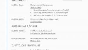 Lebenslauf Deutsch Word Tabellarischer Lebenslauf Vorlage Kostenlose Muster Zum