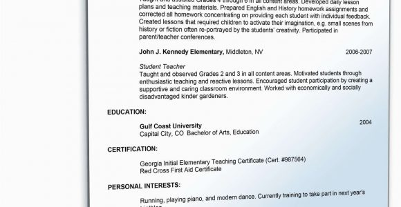 Lebenslauf Englisch Lehrerin Lebenslauf Lehrer Englisch