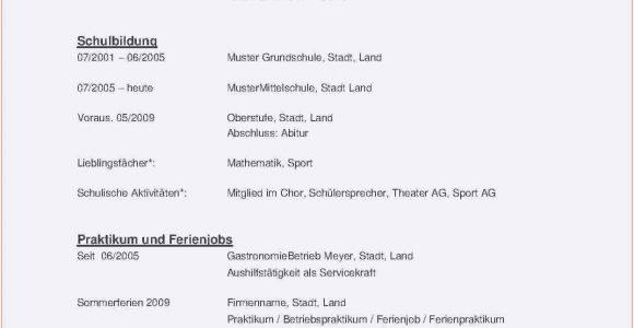 Lebenslauf Englisch Nebenjob Frisch Bewerbungsvorlage Pdf Briefprobe Briefformat