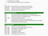 Lebenslauf Englisch Präsentieren Lebenslauf Kompetenzen Mit Berufsqualifikation Grün 2