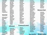 Lebenslauf Englisch Wörter 200 Wörter Und Aktionsverben Für Jedes Ihren Lebenslauf