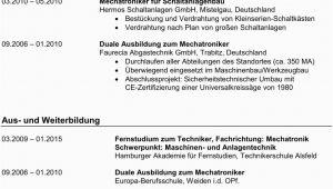 Lebenslauf Englisch Zertifikat Lebenslauf & Qualifikationen