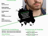 Lebenslauf Gestalten HTML Lebenslauf Me Ngestalter Digital Und Print Muster