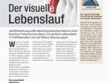 Lebenslauf Grafikdesign Wien Visueller Lebenslauf
