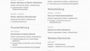 Lebenslauf Ingenieur Deutsch Lebenslauf Muster Für Ingenieur