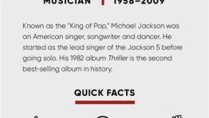 Lebenslauf Michael Jackson Englisch Michael Jackson Kids songs & Thriller Biography
