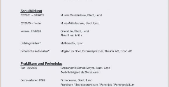 Lebenslauf Muster Yousty Pin Auf Resume Template Free Able