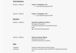 Lebenslauf Und Bewerbung Auf Englisch Lebenslauf Auf Englisch Tipps Für Resume Und Cv
