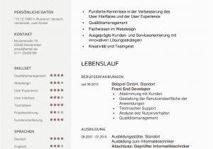 Lebenslauf Und Bewerbung Auf Englisch Lebenslauf Vorlage Qualifiziert Kostenloser Download