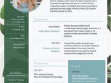 Lebenslauf Und Grafikdesign Green Interior Design Lebenslauf Vorlage Worker