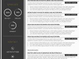 Lebenslauf Und Grafikdesign Premium Bewerbungsmuster 3