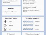 """Lebenslauf Vorlage Jugendlich Moderne Lebensläufe Vorlage """"perfect Candidate V2"""" Als Download"""