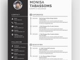 Lebenslauf Vorlage Modern Lebenslauf Vorlage Namens Monisa Tabassoms Modern