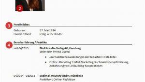 Lebenslauf Vorlagen In Open Office Lebenslauf Muster Und Vorlagen Zum Runterladen