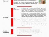 Lebenslauf Vorlagen Rot Lebenslauf Vorlage In Der Tabelle Rot Cv & Bewerbung