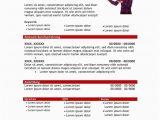 Lebenslauf Vorlagen Rot Vorlage Lebenslauf Mit Profil In Tabellarischer form Rot